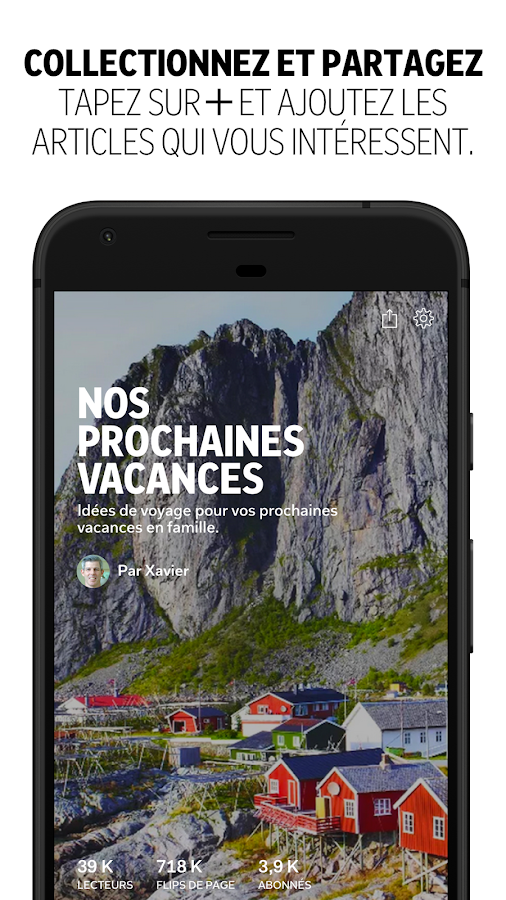 Flipboard – Capture d'écran