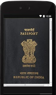 Indian Passport Application - náhled
