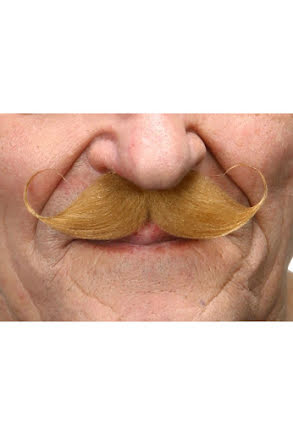 Mustasch Poirot, blond