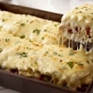 Creamy White Chicken Alfredo Lasagna One Of My Favs !!!