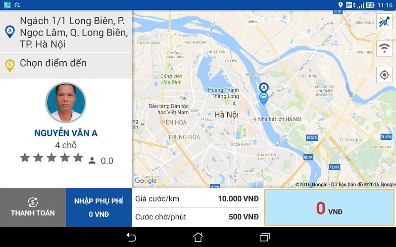 Скриншот Lai xe Thanh Cong Car