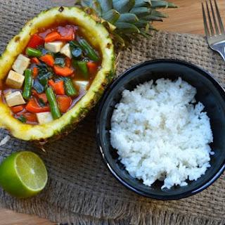 Sweet & Sour Pineapple Stir Fry.