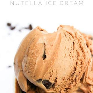 Chocolate Chunk Nutella Ice Cream Recipe