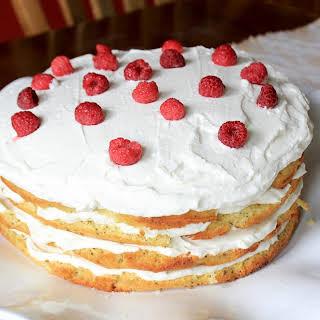 Lemon Poppyseed Cake {with Cream Cheese Frosting}.