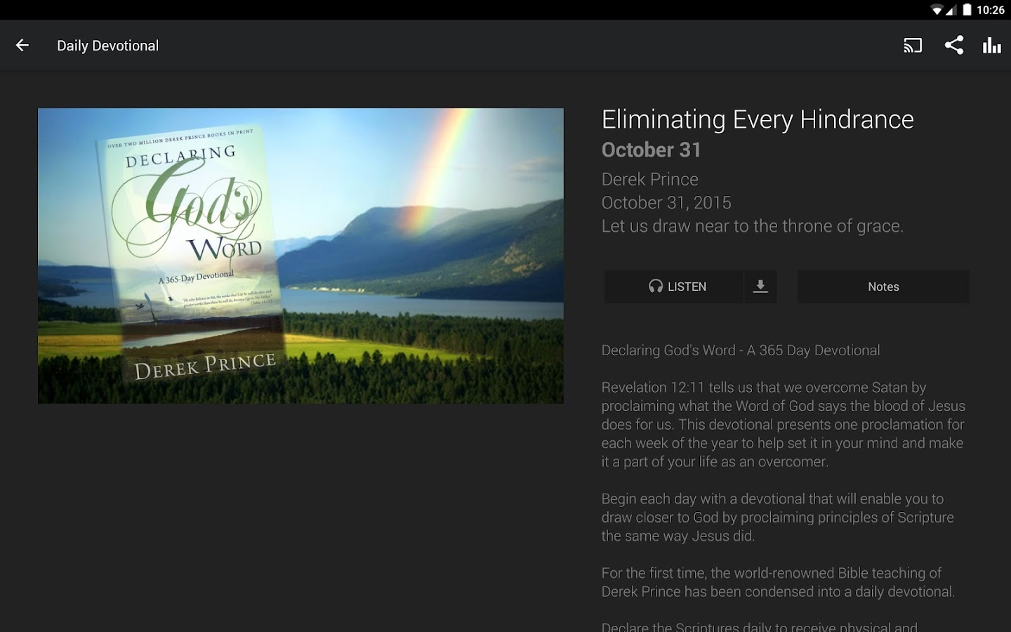 Derek Prince Ministries- screenshot