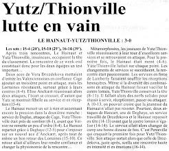 Photo: 21-10-96 N2F le choc des leaders profite à l'équipe du Hainaut 3-0
