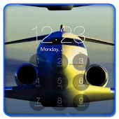 Aircraft Lock Screen HD