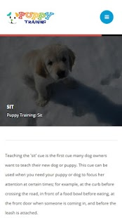 Puppy Training Screenshot