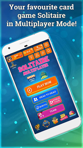 Solitaire Online - Free Multiplayer Card Game 4.8 screenshots 1