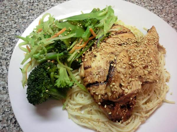 Grilled Teriyaki/sesame Seed Chicken
