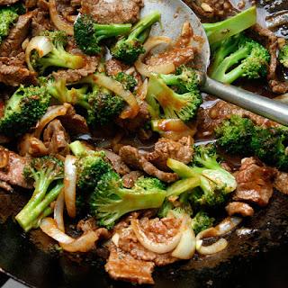 Chili Beef and Broccoli.