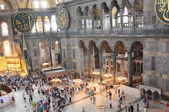 Photo: Day 114 - The Hagia Sophia, Looking Down from the Gallery