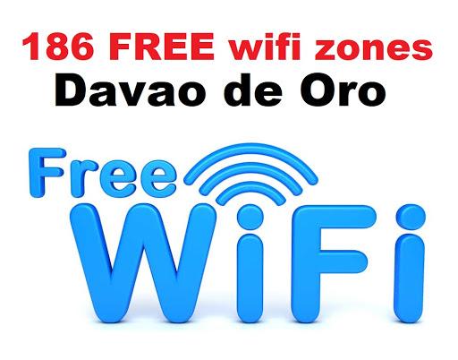 186 free wifi zones to be installed in Davao de Oro