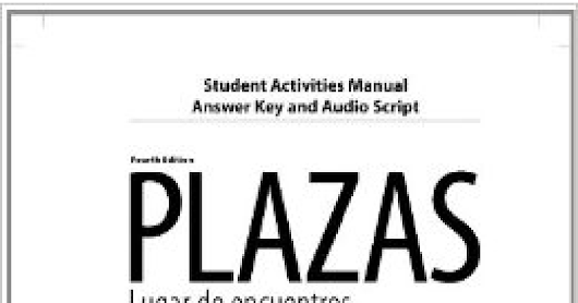plazas 4th edition workbook answer key pdf.pdf - Google Drive