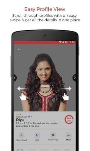 kamma matrimony - marriage, wedding app for kammas screenshot 3
