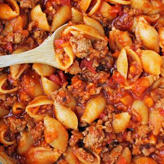 Turkey Sloppy Joe Pasta Recipe