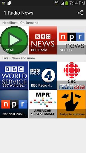 1 Radio News - 在廣播電台英語