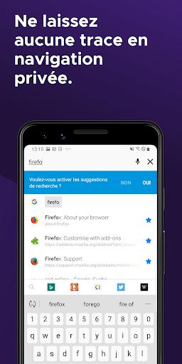 Firefox : le navigateur web rapide et privé screenshot 2