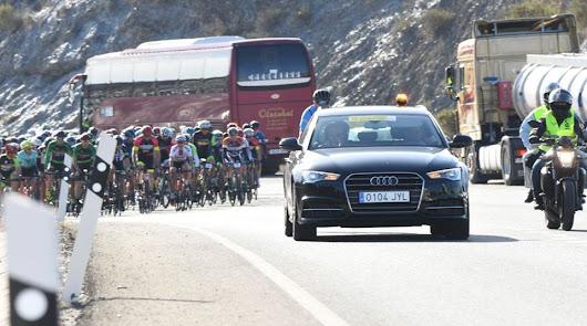 La V Vuelta Ciclista a Almería, suspendida