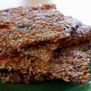 How to Make Flax Seed Crackers.