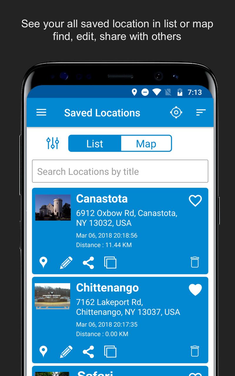 Save Location GPS Screenshot 7
