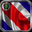Costa Rica Flag Live Wallpaper icon