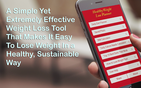 Healthy Weight Loss Planner- screenshot thumbnail