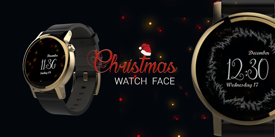 android Watch Face: Christmas Screenshot 4