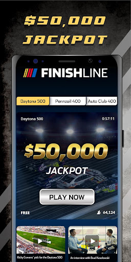NASCAR Finish Line screenshot 1
