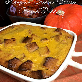 Pumpkin Cream Cheese Bread Pudding Recipe- Grain-free & Sugar-free… with a Dairy-free option!