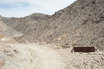 Photo: Entrance to the Death Valley - road seem to be OK so far