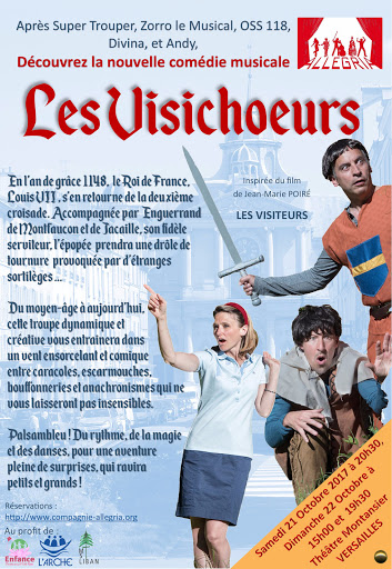 Les Visichoeurs - Flyers
