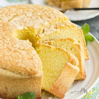 Twelve Yolk Pound Cake.