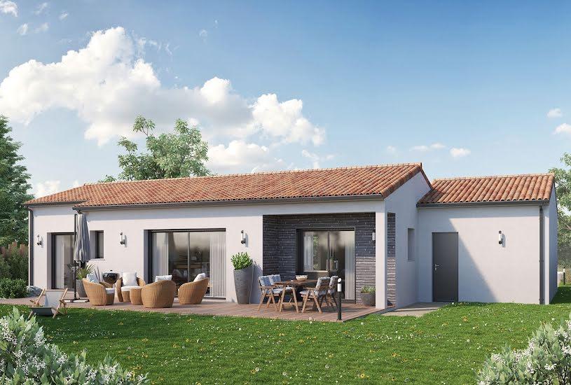 Vente Terrain + Maison - Terrain : 1000m² - Maison : 110m² à Poitiers (86000)