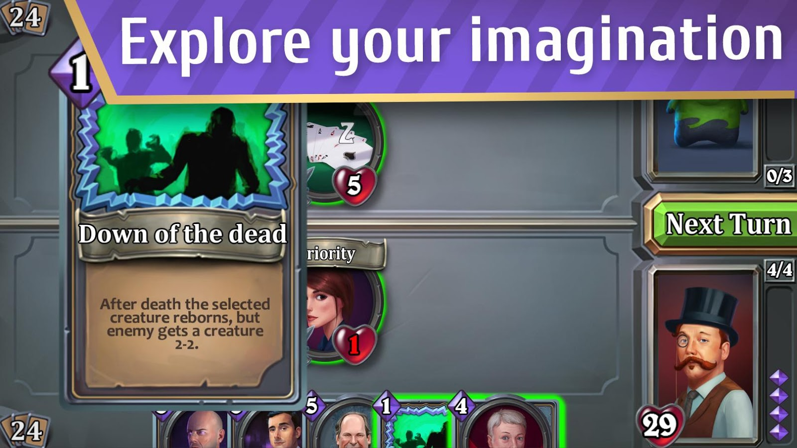 Master of Cards - TCG game- screenshot