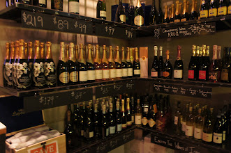Photo: Wines, Champagnes... what's a gal to choose?