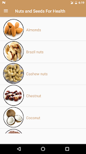 Nuts & Seeds For Health screenshot 1