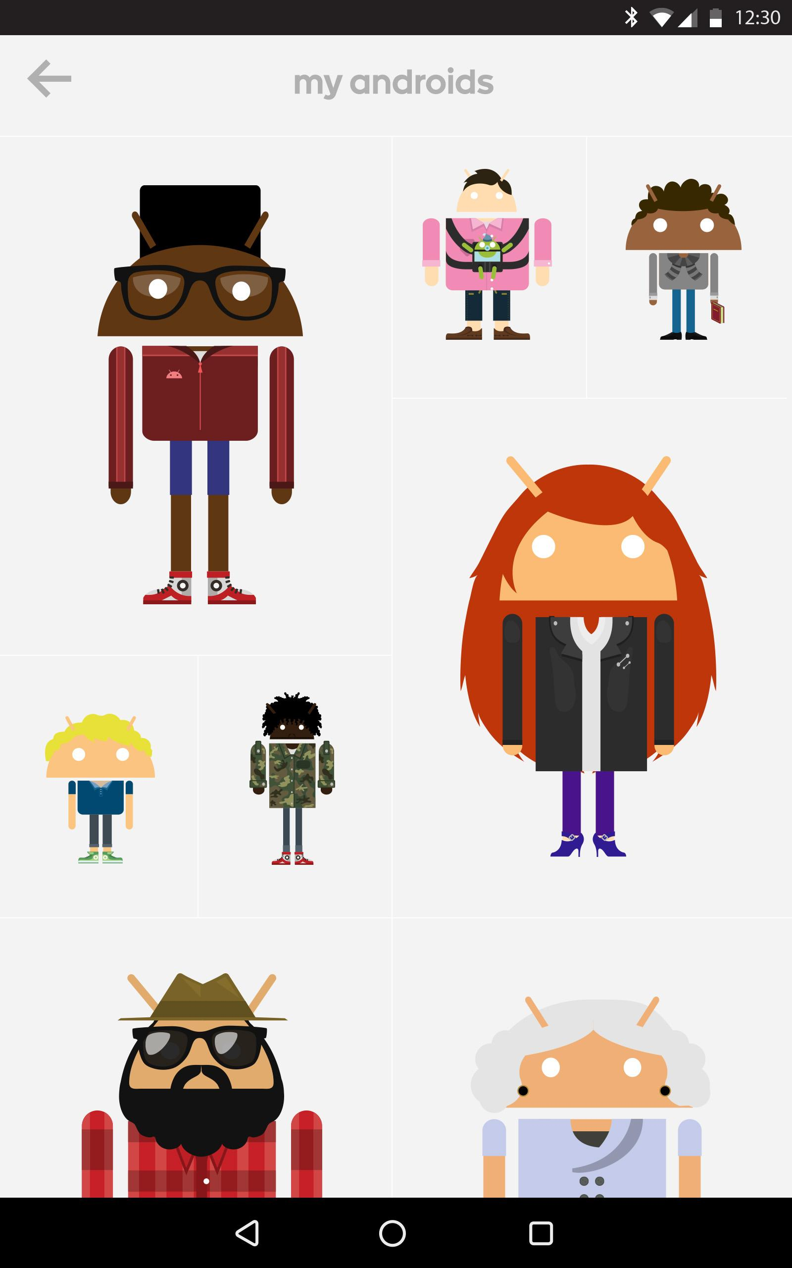 Androidify screenshot #12