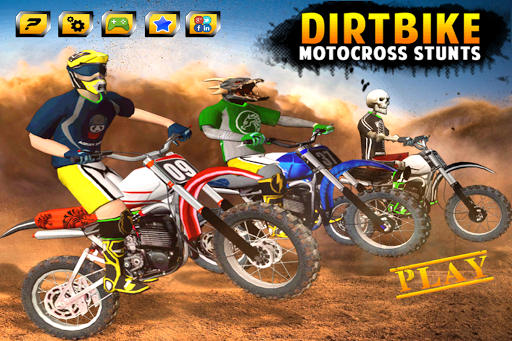 Dirt Bike Cop Race Free Flip Motocross Racing Game 12 de.gamequotes.net 4