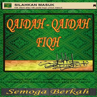 Kaidah Ushul Fiqh - náhled