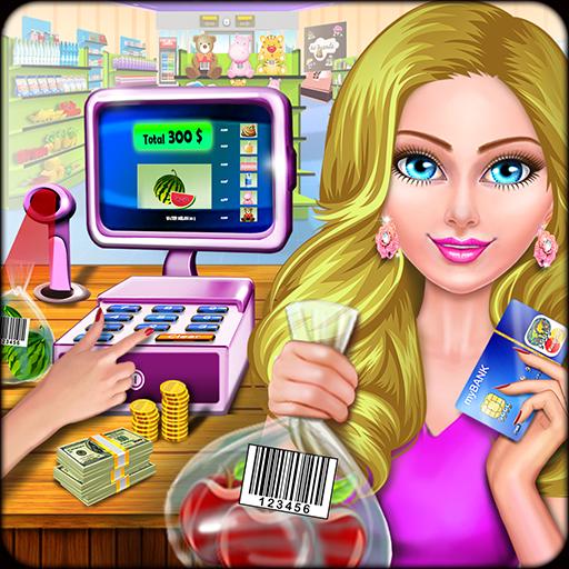 Super Market Cashier Game: Fun Shopping Spree