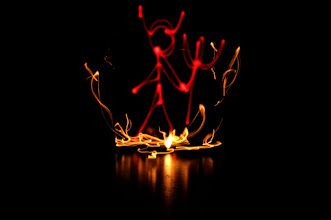 Photo: Hell - Light painting by Christopher Hibbert, french photographer and light painter. Further information: http://www.christopher-hibbert.com