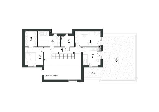 Atrakcyjny D19 - Rzut piętra