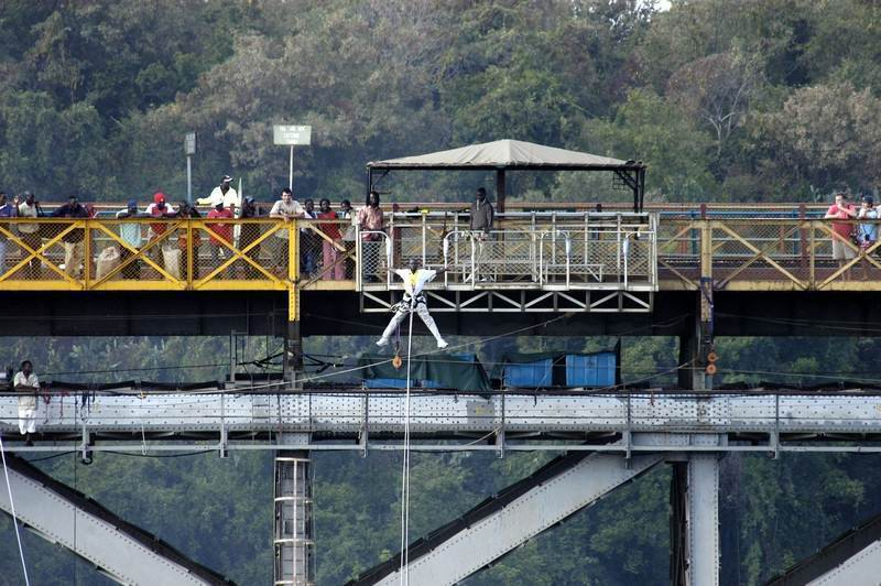 Vic Falls bridge bunji