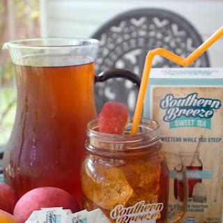 Peach Sweet Tea and Rum.