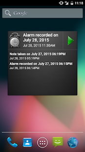 Voice Notes & Alarms recorder- screenshot thumbnail