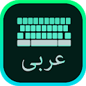 Arabic Keyboard with English letters icon