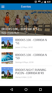 Brooks Chile: miniatura de captura de pantalla