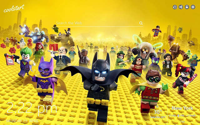 Lego HD Wallpapers New Tab Theme