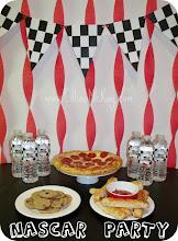Photo: NASCAR party time
